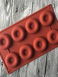 economico -1pz silicone per ciambelle che fanno stampo per il pane, strumento di cottura di alta qualità nuovo stile