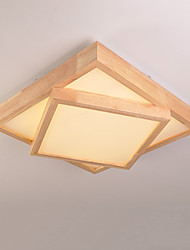 Moderno/Contemporaneo Montaggio del flusso Per Salotto Camera da letto Cucina Sala da pranzo Sala studio/Ufficio AC 220-240V Lampadine