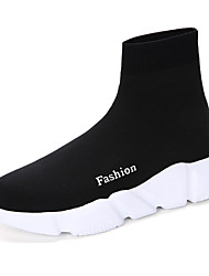 cheap -Unisex Boots Couple Shoes Customized Materials Fall Winter Outdoor Office & Career Casual Fashion Boots Low Heel Black 1in-1 3/4in