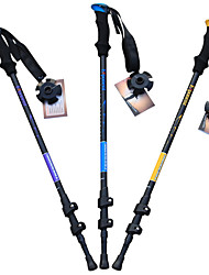 cheap -3 Nordic Walking Poles 135cm (53 Inches) Damping Foldable Adjustable Fit Light Weight Aluminum Alloy 7075Camping & Hiking Snowshoeing