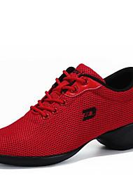 Scarpe da ballo-Non personalizzabile-Da donna-Sneakers da danza moderna-Basso-Tessuto-