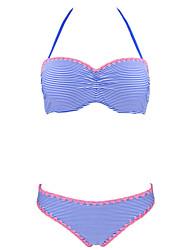 cheap -Women's Halter Bikini - Solid