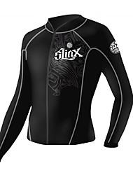 Недорогие -SLINX Универсальные 2mm Гидрокостюмы Куртка для гидрокостюма Сохраняет тепло Ультрафиолетовая устойчивость Сжатие видеоизображений Тактель