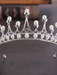 Lega perla di perle della lega-cerimonia nuziale occasione speciale tiaras perno dei capelli 1 pezzo