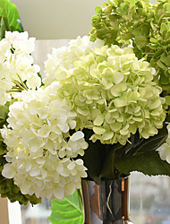 cheap -Artificial Flowers 1 Branch European Style Hydrangeas Tabletop Flower