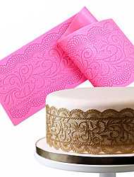 cheap -Mold Lace For Chocolate For Cake Silicone DIY Nonstick