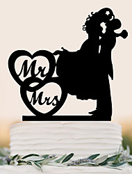 cheap -Cake Topper Beach Theme Garden Theme Butterfly Theme Classic Theme Fairytale Theme Rustic Theme Vintage Theme Birthday Family Wedding