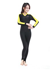 economico -Per donna Muta intera Asciugatura rapida Design anatomico Traspirante Neoprene Manica lunga Scafandri Immersioni