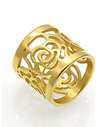 cheap -Men's Women's Statement Ring Band Ring Personalized Geometric Unique Design Vintage Euramerican Fashion Double-layer Rock Titanium Steel