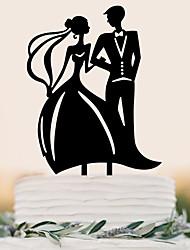cheap -Cake Topper Beach Theme Garden Theme Butterfly Theme Butterly Theme Classic Theme Wedding Vintage Theme Rustic Theme Classic Couple