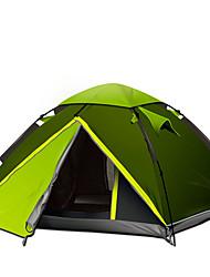 GAZELLE OUTDOORS 3-4 Pessoas Tenda Duplo Barraca de acampamento Um Quarto Tenda Dobrada Prova-de-Água A Prova de Vento Resistente Raios
