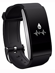 cheap -Smart Bracelet iOS Android Touch Screen Heart Rate Monitor Water Resistant / Water Proof Calories Burned Pedometers Health Care Camera
