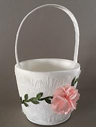 Недорогие -Цветочные корзины Атлас 21 см Цветы 1 pcs