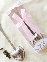Bachelorette Party TeaTime Heart Tea Infuser in Elegant Box Wedding Favor Beter Gifts® Marriage Gifts
