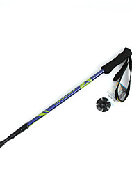 cheap -3 Nordic Walking Poles 135cm (53 Inches) Damping Foldable Adjustable Fit Light Weight Aluminum Alloy 6061 Camping / Hiking Snowsports