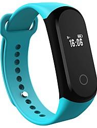 Yy a16 мужская женщина умный браслет / smartwatch / bluetooth ip67 частота сердечных сокращений монитор сна шагомер наручные часы для iOS