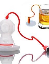 1pcs кофе чай infusers производители дайвер вкладыши вкладыши мешок кружка фильтр кухонный инструмент случайный цвет