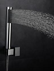 preiswerte -Moderne Regendusche Chrom Eigenschaft-Regenfall , Duschkopf