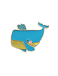 cheap -Women's Brooches Animal Design Bohemian Euramerican Enamel Alloy Animal Shape Jewelry For Wedding Party Special Occasion Daily Casual