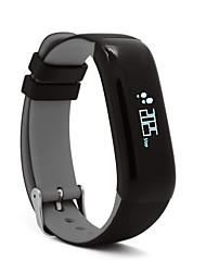 abordables -Pulsera inteligente P1 para iOS / Android Monitor de Pulso Cardiaco / Medición de la Presión Sanguínea / Calorías Quemadas / Standby Largo / Pantalla Táctil Recordatorio de Llamadas / Seguimiento de