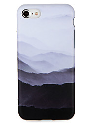 billige -Til Apple iPhone 7 7plus Case Cover Mønster Bag Cover Cover Scenery Soft TPU 6s plus 6 plus 6s 6