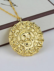 cheap -Women's Pendant Necklace - Vintage Movie Jewelry Euramerican Fashion Skull Necklace For Daily