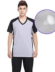 abordables -Hombres Fútbol Tops Transpirable Verano Clásico Chinlon Ejercicio y Fitness