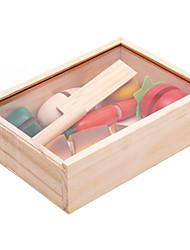 Tue so als ob du spielst Bausteine Bildungsspielsachen Toy Foods Spielzeuge Gemüse friut Kinder 1 Stücke