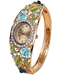 cheap -Women's Bracelet Watch Creative / Cool / Casual Watch Alloy Band Vintage / Casual / Fashion