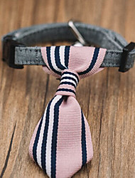 Gato Cachorro Natal Gravata/Gravata Borboleta Roupas para Cães Clássico Fofo Férias Casual Aniversário Reversível Fashion Esportes