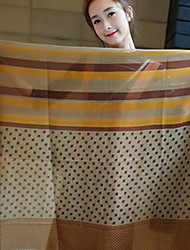 Korea Cotton and Linen Retro Scarf Shawl Thin Long Rectangle Women's Beach UV Sunscreen Bohemia