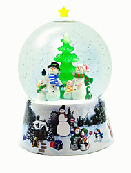 Balls Music Box Christmas Trees Light Up Toys Toys Sphere Duck Resin Pieces Unisex Christmas Birthday Gift