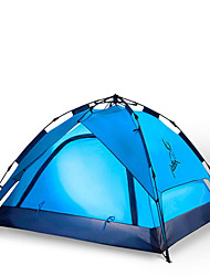 cheap -3-4 persons Tent Double Camping Tent One Room Automatic Tent Moistureproof/Moisture Permeability Waterproof Windproof Rain-Proof Sun