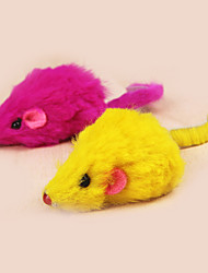 cheap -Cat Cat Toy Pet Toys Mouse Toy Feather Toy Mouse Textile For Pets