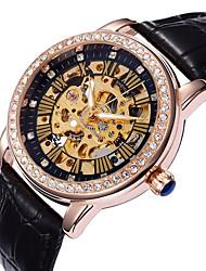 Shenhua Women's Fashion Leisure And High-End Cut-Out Automatic Mechanical Watch