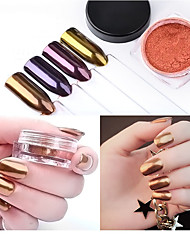cheap -1 pc nail art the magic mirror powder local tyrants local tyrants gold 2 g pack 4 color