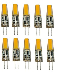 1.5W G4 LED Bi-pin Lights T 1 COB 250 lm Warm White Cold White 2700-3500/6000-6500 K Decorative AC/DC 12 V
