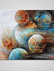 baratos -Estampados de Lonas Esticada Abstrato Modern, 1 Painel Tela de pintura Horizontal Estampado Decoração de Parede Decoração para casa