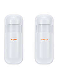 cheap -2pcs/lot Mini Wireless PIR Motion Sensor Infrared Detector 433MHZ For Linked With Home Alarm Control Panel