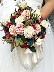 Bouquet sposa Tondo Rose Bouquet Partito / sera Raso