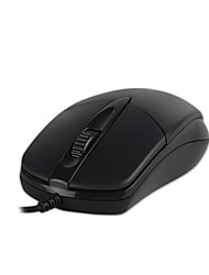 cheap -S100 Office Mouse Three Buttons Matte Surface Mouse Support Windows XP / Vista Windows7 / 8 / MAC iOS Operating System