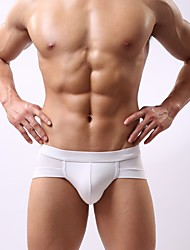 Men's Sexy Solid Briefs Underwear,Cotton