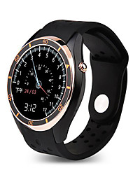 economico -Smart watch mtk6580 android 5.1 os bluetooth 4.0 monitor di frequenza cardiaca pedometro con wifi gps 3g google play smartwatch phone