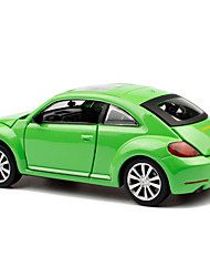 cheap -Toy Cars Classic Car Toys Pull Back Vehicles Music & Light Toys Metal Pieces Unisex Gift