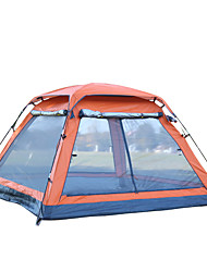 cheap -3-4 persons Screen House Tent Single Camping Tent One Room Automatic Tent Ultraviolet Resistant Rain-Proof for Camping Traveling CM