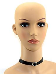 preiswerte -Lolita Accessoires Klassische/Traditionelle Lolita Ohrring Halskette Lolita Schwarz Lolita Accessoires Solide Krawatte Schleife Lolita
