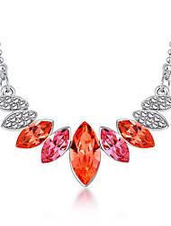 Dámské Prohlášení Náhrdelníky Šperky Šperky Křišťál Slitina Jedinečný design Módní Euramerican Šperky Pro Párty Ostatní Obřad Večerní