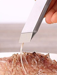 economico -1 pezzi Tong For per Carne per Pesce Acciaio inossidabile Alta qualità Cucina creativa Gadget