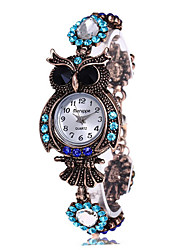 cheap -Vintage Quartz Watches Luxury Brand Owl Fashion Women Bracelet Watch Designer Watches Beautiful Girl Gift Watch