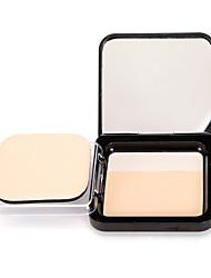 billiga Ansikte-# / 2 färger Makeup Set Puder Pressat puder 1 pcs Torr / Kombination / Oljig Dækning / Concealer / Naturlig Ansikte Smink Kosmetisk